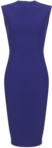 LANVIN Neoprene Pencil Dress