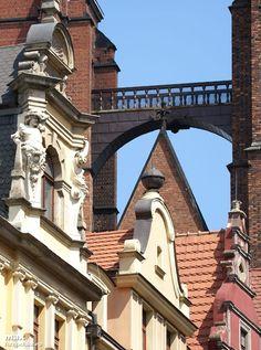Witches Bridge; Wrocław, Poland. Rynek. Mostek Czarownic.