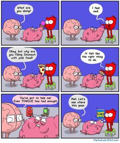 18 New Ideas for funny comics memes awkward yeti Akward Yeti, The Awkward Yeti, Funny Cute, The Funny, Hilarious, Heart And Brain Comic, Funny Comic Strips, Medical Humor, I Love To Laugh