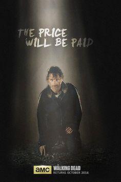 The Walking Dead: novo pôster e cenas com Negan na 7ª temporada - Minha Série