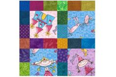 Kids Love I Spy Quilts and the Projects Are So Easy to Make: Use Scraps and Squares to Make an I Spy Quilt