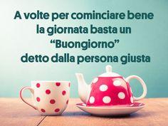 Immagini BUONGIORNO Belle per Whatsapp Good Afternoon, Good Morning, Verona, Tea Pots, Tableware, App, Amazing, Buen Dia, Dinnerware