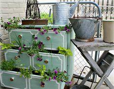 schöne gartendeko kann man mit altem holz bestimmt selber machen, Garten Ideen
