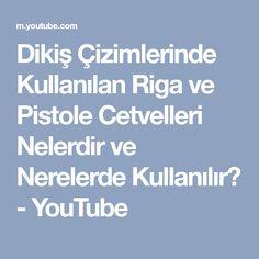 Dikiş Çizimlerinde Kullanılan Riga ve Pistole Cetvelleri Nelerdir ve Nerelerde Kullanılır? - YouTube