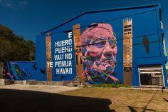 Askew One - Post-graffiti artist from the South Pacific. Mountains, Painting, Art, Graffiti Art, Street Art