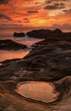 Fiery Coast - Point Lobos Natural Reserve, California  Woow! Beautiful