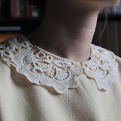 BEA YELLOW Crochet Necklace, Brooch, Yellow, Wallpaper, Rose, Fashion, Moda, Pink, Fashion Styles