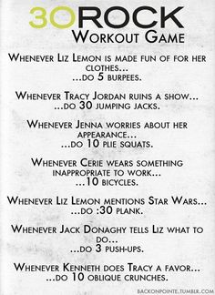 30 Rock   43 Workouts That Allow You To Watch An Ungodly Amount Of Television
