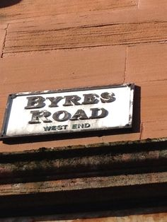 I live near Byres Road in the West End of Glasgow. I love the fact that many small independent shop still thrive there. West End Glasgow, Glasgow Scotland, Streets Have No Name, Happy Song, Beautiful Architecture, Home And Away, Homeland, Memoirs, Brave