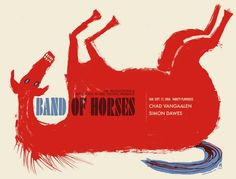 Band of Horses 2006 Concert Poster by Methane Studios (SOLD OUT)