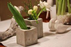 DIY Väschen aus Beton