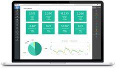 """Résultat de recherche d'images pour """"google analytics dashboard"""" Google Analytics Dashboard, Digital"""