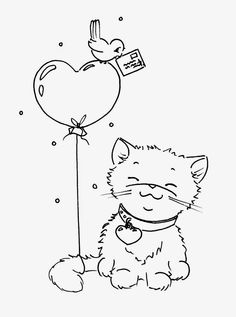 Sliekje Digi Stamps Just Cute Coloring Pages Digi Fox Coloring Page, Cute Coloring Pages, Coloring Books, Free Coloring, Digital Stamps Free, Cat Cards, Embroidery Patterns, Ribbon Embroidery, Machine Embroidery