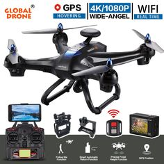 Discover The Latest About advanced drone technology,Best Drones With Camera,Best Flying Camera Drone,best live video drone,best remote control drone with camera. Drone Gps, Drone Quadcopter, Rc Controller, Wifi, Remote Control Drone, Drone Technology, Sports Camera, Rc Helicopter, Sports