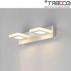 38.88$  Buy now - https://alitems.com/g/1e8d114494b01f4c715516525dc3e8/?i=5&ulp=https%3A%2F%2Fwww.aliexpress.com%2Fitem%2FECOBRT-6W-Led-Wall-lamps-Indoor-Bathroom-31cm-Long-Modern-Style-White-LED-Mirror-lights-2%2F32739562366.html - ECOBRT 6W Led Wall lamps Indoor Bathroom 31cm Long Modern Style White LED Mirror lights 2-lights Surface Mounting 220v ac 38.88$