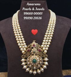 Check out all the possible long pearl necklace designs that are trending now and where you can shop them. Gold Jewellery Design, Bead Jewellery, Pearl Jewelry, Bridal Jewelry, Beaded Jewelry, Diy Jewelry, Luxury Jewelry, Handmade Jewelry, Tikka Jewelry