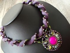 """Arita"" by Renata of Czech Republic -  love the purples and greens Indespiral"