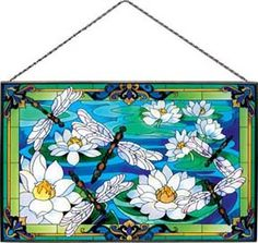 Stained Glass Dragonfly Dragonflies @ Jules Enchanting Gifts & Collectables