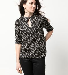 Features:- Fabric cotton- 3/4 sleeve- Front button fastening- Style