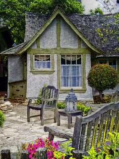 Hansel and Gretel House, Carmel   by Artypixall