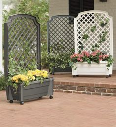 Gorgeous Wooden Trellis Planter Box   Wake Up The Side Of Your House,  Garage Or Garden Wall With This Gorgeous Wooden Trellis Planter Box. Its  Fir U2026
