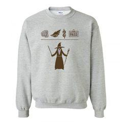 Wizard Hieroglyph Sweatshirt SN