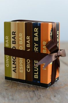 Six-Pack of Handmade Chocolate Bars – Gearharts Fine Chocolates