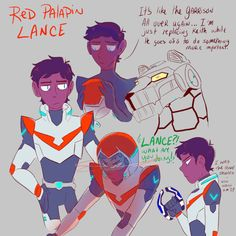 Red paladin Lance /Langst | OK BUT LIKE I CAN'T SEE LANCE OR KEITH AS ANY OTHER PADALAIN SO LIKE PLS DO NOT MAKEBTHEM SWITCH OR IMA CRY