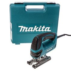 Makita 4350CT 110V 720W Orbital Action Electric Jigsaw by Makita A superb professional use 230v jigsaw with a wide array of features including pendulum action for smoother curve cutting