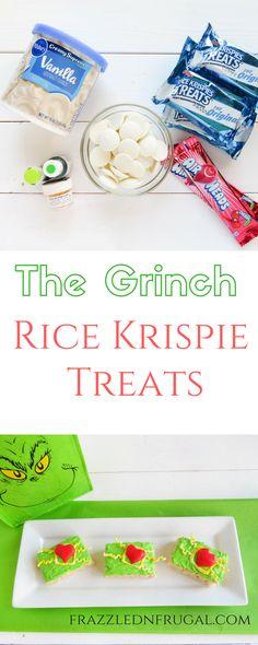 The Grinch Rice Krispie Treats
