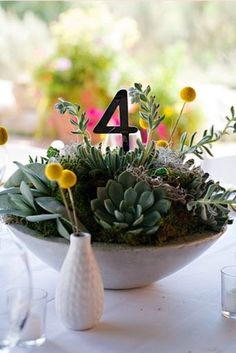 24 Succulent Centerpieces For Your Reception Table | Weddingomania
