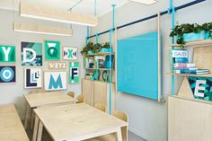 Masquespacio Redesign The Branding And Interior Spaces For A Language School In Barcelona