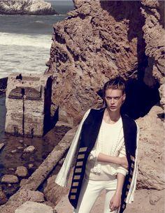 Marie Claire Italy Editorial September 2014 - Tess Hellfeuer by Nagi Saka