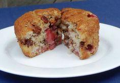 Strawberry Banocolate Muffins