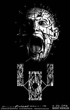 Hellraiser ☆ Pinhead I saw this once and that was enough weirdness to see just once.