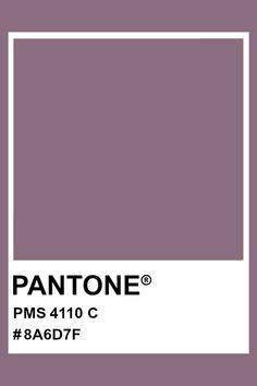 PANTONE 4110 C #pantone #color #PMS #hex Pantone Colour Palettes, Pantone Color, Graphic Design Projects, Print Design, Pantone Matching System, Material Board, Pms Colour, Color Swatches, Color Pallets