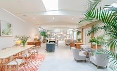 Following hot on the heels of the Wes Anderson-designed cafe that was opened at the Fondazione Prada earlier this year, another new hospitality venture, this time over in Barcelona, has tipped its hat to the acclaimed director's iconic oeuvre. Called M...