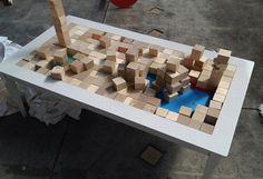 Block.210 coffee table