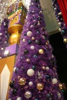 Purple Christmas!