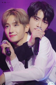 Younghoon x hyunjae New Boyz, Hyun Jae, Bermuda Triangle, Star Awards, Golden Child, Fake Love, Kpop, K Idol, Cute Gay