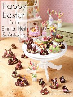 Paris Miniatures: Happy Easter!