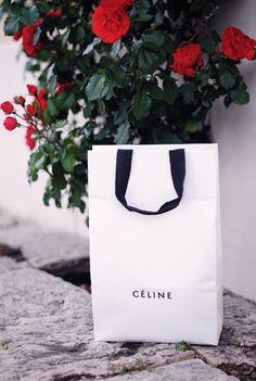 I'm fashionstoned celine shopping bag trio bag