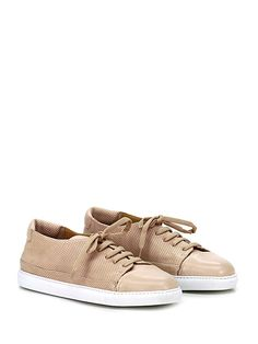 Pomme d Or - Sneakers - Donna - Sneaker in pelle micro forata e pelle c20d206f577