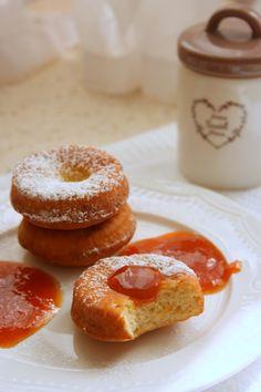 BAB gluténmentes blogja: Mindenmentes fánk Milk Recipes, Cake Recipes, Doughnut, Low Carb, Gluten Free, Sweets, Snacks, Vegan, Baking