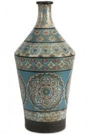 Kabir Hand-Painted Vase