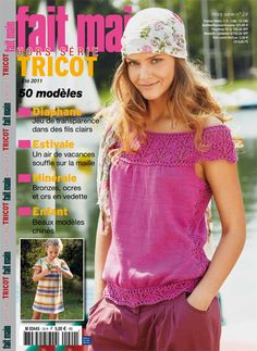 My tours and patterns reviewed in Burda Fait main