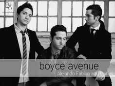 boyce avenue... love these guys! check em out on youtube