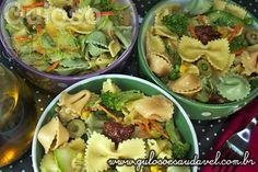 Salada de Legumes com Farfalle » Receitas Saudáveis, Saladas » Guloso e Saudável