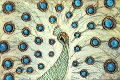 abstract peacock photos art   Abstract white peacock large modern contemporary Fine Art PRINT - by ...