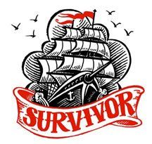 pirate ship survivor tattoo design